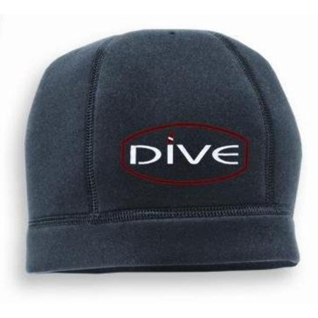 New Scuba Diver 2mm Neoprene Watch Cap Beanie with Dive Gear Design (Small-Medium) for Boatwear and WaterSports - Black, 2mm Neoprene By Innovative Scuba (Best Scuba Gear Packages)