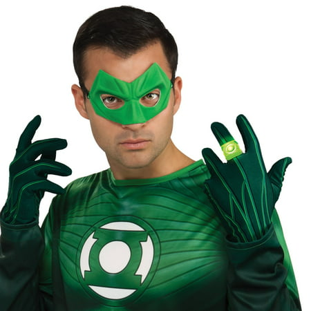 Light Up Green Lantern Ring for Adults