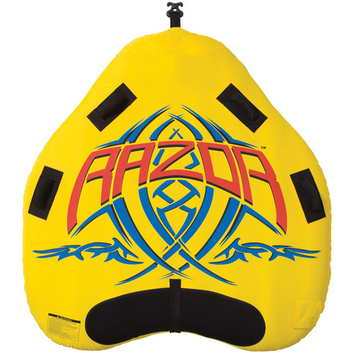 Rave Sport Razor 2-Person Towable, Yellow by Generic