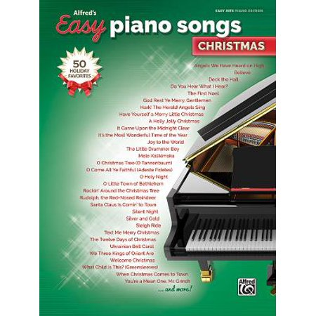 Alfred's Easy Piano Songs -- Christmas : 50 Christmas Favorites](Halloween Song Piano)