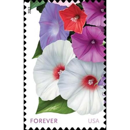Morning Glories Poster Print By  Us Postal Service