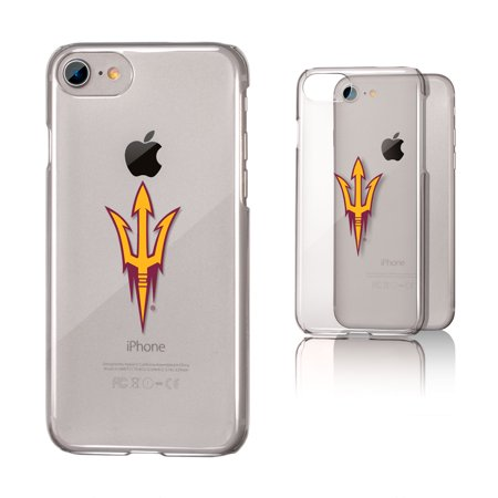 ASU Arizona State Sun Devils Insignia Clear Case for iPhone 8 / 7 / 6 (Iphone 6 Devils Hockey Case)