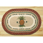 Earth Rugs 65-375P Pineapple Oval Patch