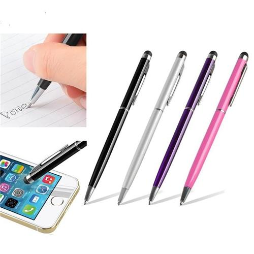 Insten 4X 2in1 Capacitive Touch Screen Stylus with Ball Point Pen For iPhone 7 7S 8 6 6S Plus X iPad Air Mini Pro Tablet Samsung Galaxy Tab E A S2 LG G Pad RCA Ematic HIGHQ Sprout Channel Dragon Touch