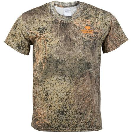 Mossy Oak Mens Camo Short Sleeve Crew Tee