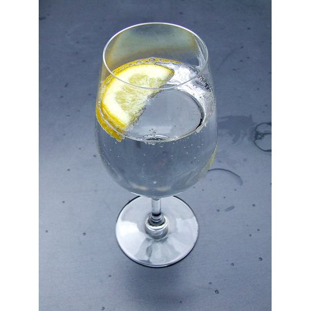 Canvas Print Mineral Spritzer Water Seltzer Club Soda Sparkling Stretched Canvas 10 x (Club Soda Or Sparkling Water For Mojitos)