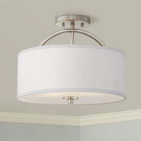 Nickel Ceiling Lamp (Possini Euro Design Possini Euro Halsted 15