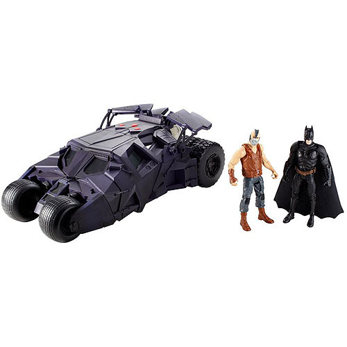 Batman The Dark Knight Rises Combat Assault Tumbler Action Figure and Vehicle