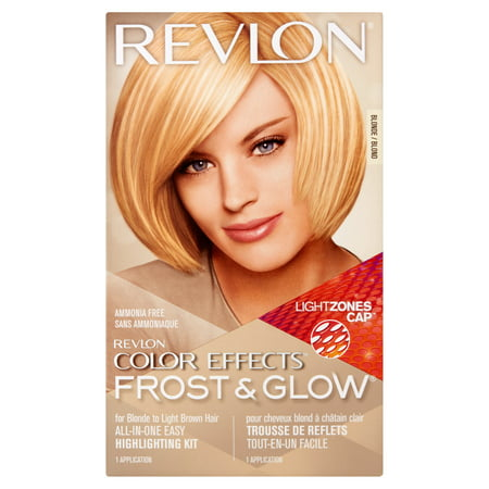 Hair Lightening Kit - Revlon color effects frost & glow hair highlighting kit, blonde