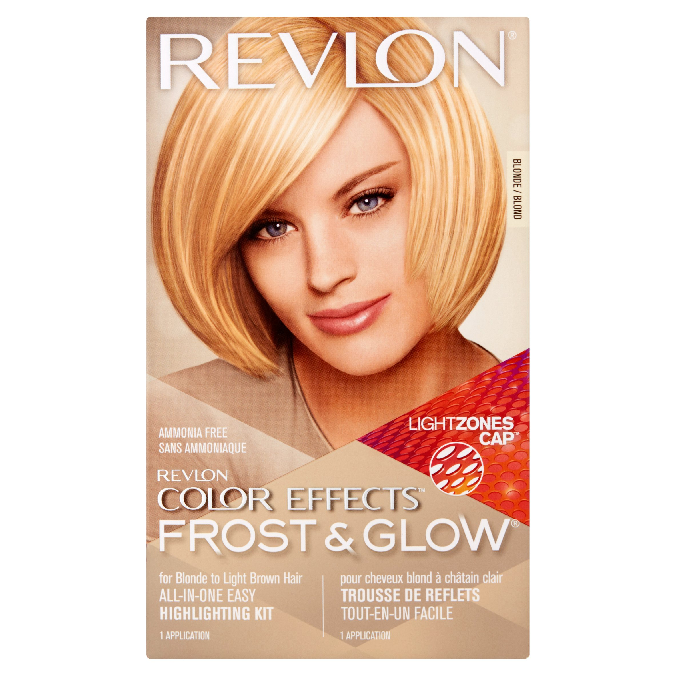 Revlon color effects frost & glow hair highlighting kit, blonde