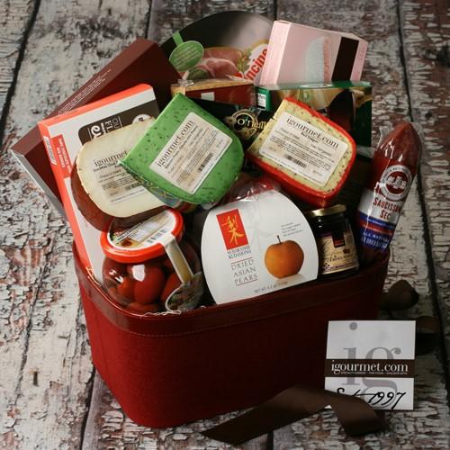 Igourmet Extravagant Taste of The World Gourmet Gift Basket