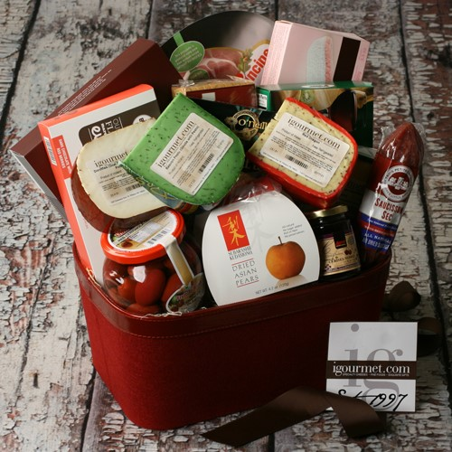 Extravagant Taste of The World Gourmet Gift Basket