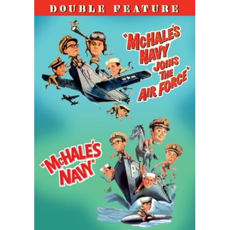 Mchale's Navy / Mchale's Navy Joins The Air Force (DVD) (Air Force 1 Hi)