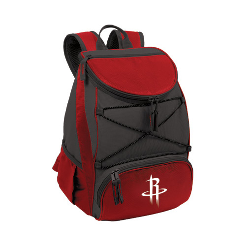 "Picnic Time PTX Cooler Backpack Houston Rockets Print  11"" x 7"" x 12.5"""
