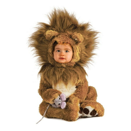 Infant Toddler Lion Cub Costume (Plus Size Cowardly Lion Costume)