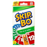 Skip-Bo Ultimate Sequencing Card Game for 2-6 Players Ages 7Y+