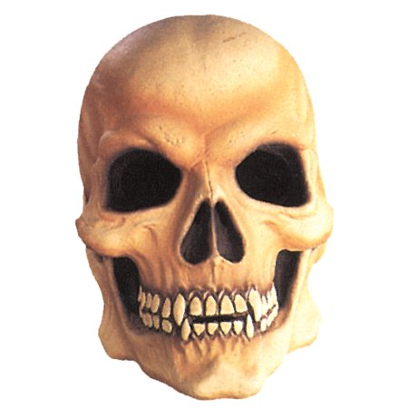 Vampire Skull Latex Mask Adult Halloween Accessory](Latex Vampire Mask)