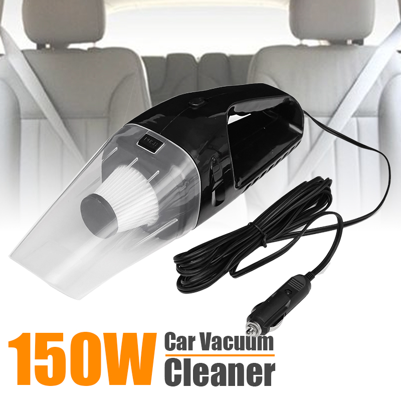 ELEGIANT Car Vacuum Cleaner Portable 150W 12V Handheld Auto Vehicle Car Vacuum Cleaner Wet/Dry Dirt Duster