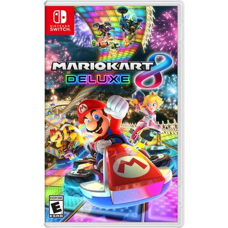 Mario Kart 8 Deluxe (Nintendo Switch) (Mario Kart 8 Deluxe Alternate Title Screen)