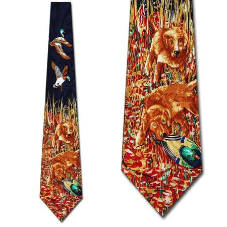 Duck Hunting Necktie Men's Tie