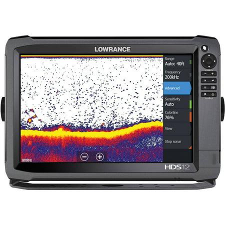 Lowrance 000-12916-001 HDS-12 Gen3 Insight Fishfinder/Chartplotter, 83/200 Bundle