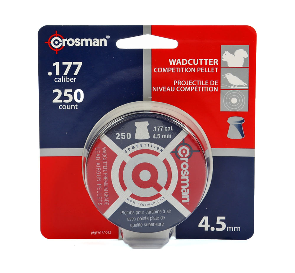 Crosman Wadcutter Pellets 250 ct 6177 by Crosman