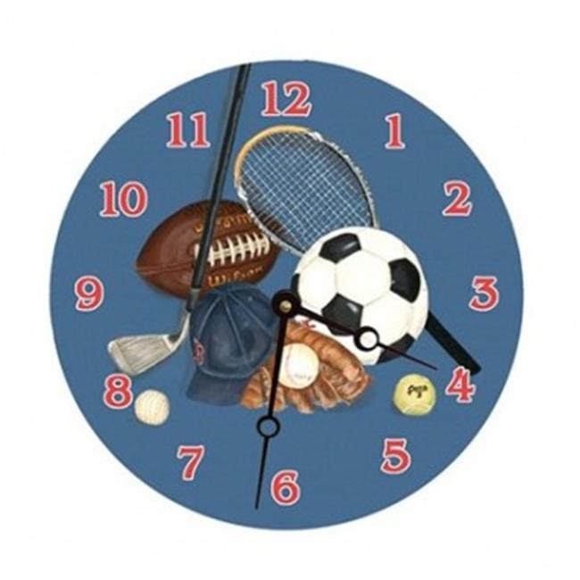 Lexington Studios 23058R Little Athlete Round Clock by Lexington Studios