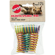Spot Wide Colorful Springs Cat Toy