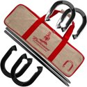 Budweiser Licensed Horseshoe Set with Carrying Case