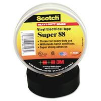 "3M Scotch 88 Super Vinyl Electrical Tape, 1.5"" x 44 ft, Black -MMM10364"
