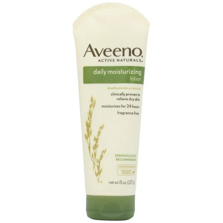 Aveeno Daily Moisturizing Lotion with Oat for Dry Skin, 8 fl. (Active Moisturizing Cream)