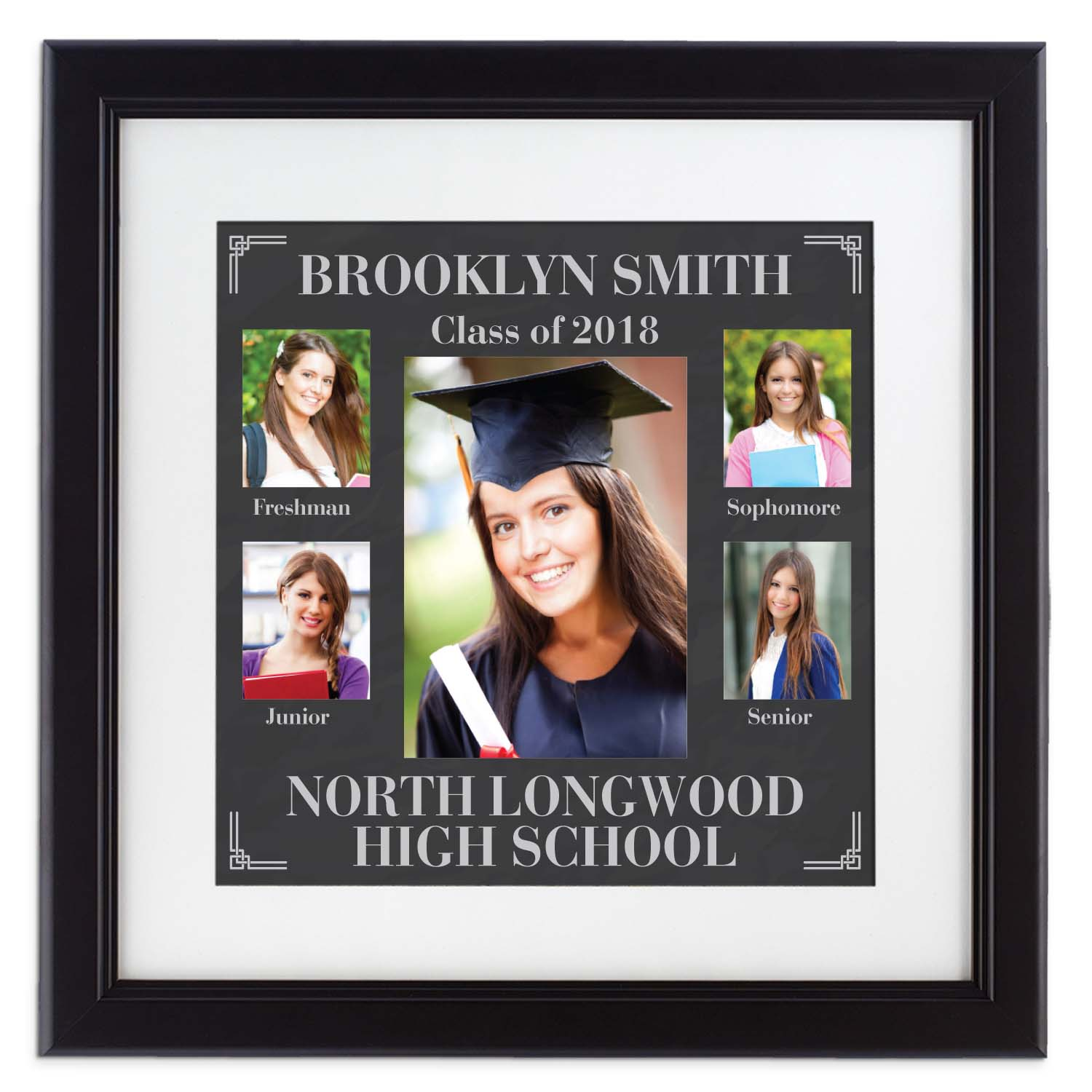 Personalized Picture-Perfect High School Graduation Photo Frame