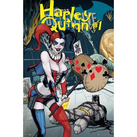Dc Comics Harley Quinn Forever Evil Poster Print (24 x 36) (Evil Harley Quinn)