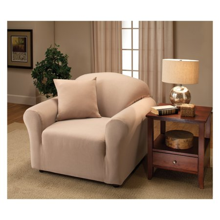 Madison Jersey Stretch Slipcover, Chair ()
