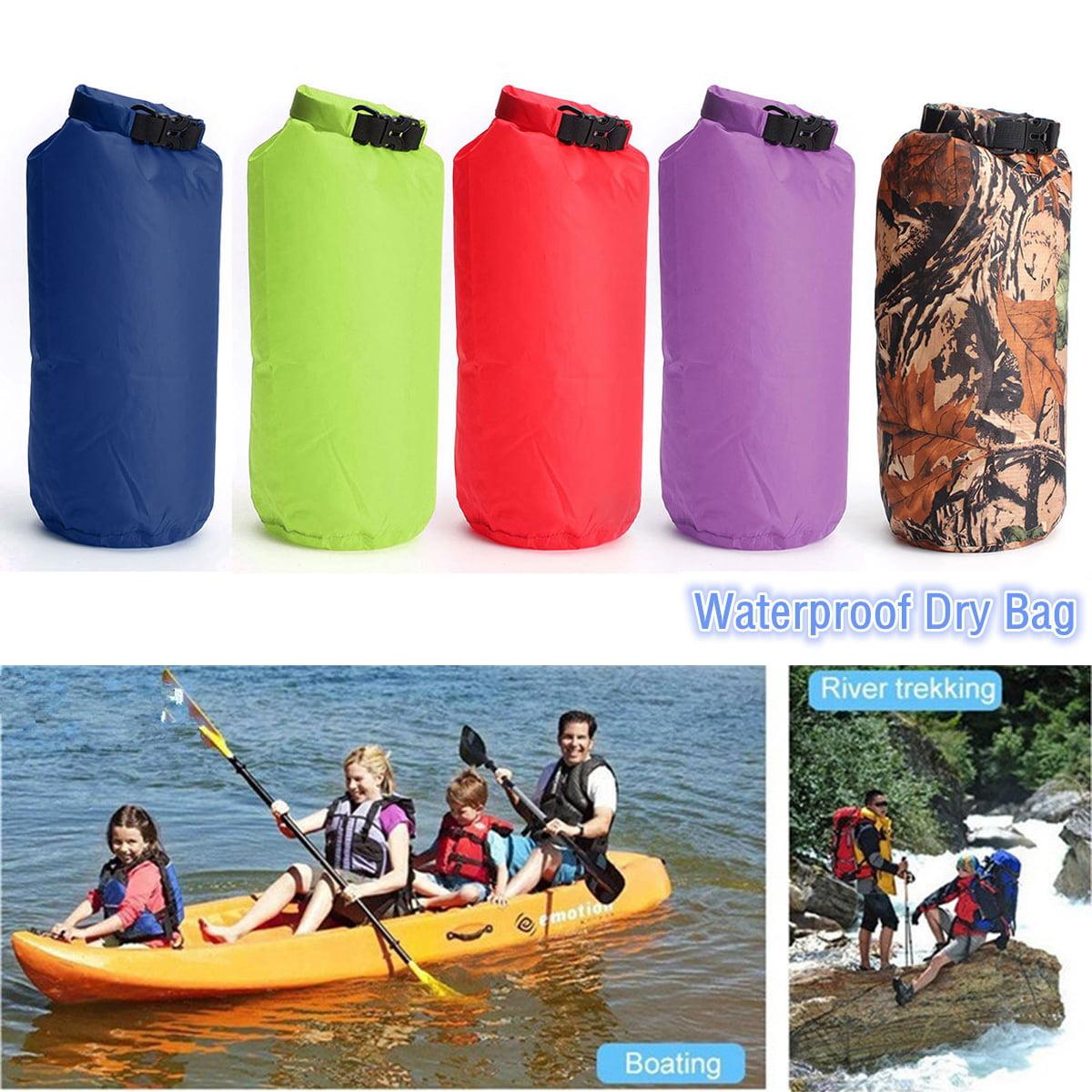 8L Waterproof Floating Dry Bag Dry Sack Water Resistant Waterproof Bag For Canoe Boating Kayaking Camping Hiking