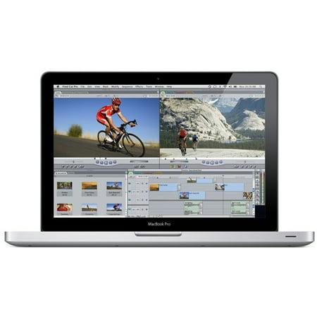 Apple MacBook Pro 13.3'' MC700ll/A Laptop Computer Intel i5 Dual Core 2.3GHz 4GB 320GB ( Certified Refurbished - Grade C )