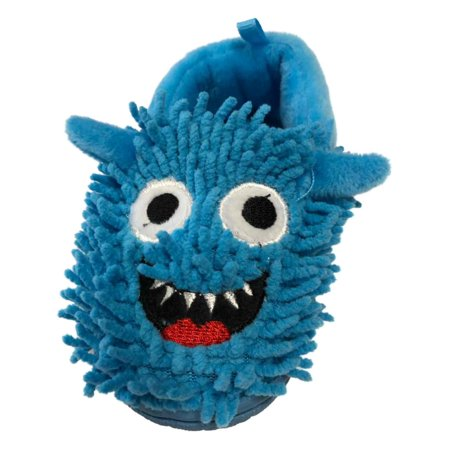 Infant Boys & Girls Lumpy Blue Monster Slippers Baby Shoes Loafers](Belle Slippers)