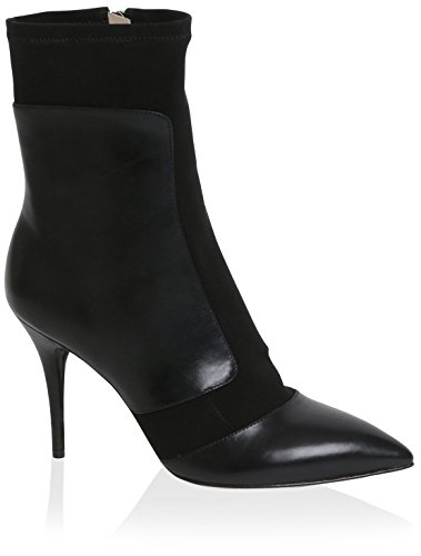 Carolina Espinosa Women's Archibald Boot, Black Leather Textile, 6.5 M US by Carolina Espinosa