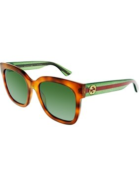 2ee1bb2e513 Product Image GG0034S-003-54 Brown Square Sunglasses. Gucci