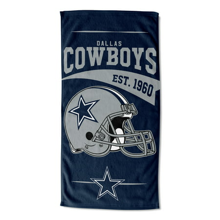 NFL Dallas Cowboys 3 Step Drop Beach Towel - Walmart.com 70c90f6dce58