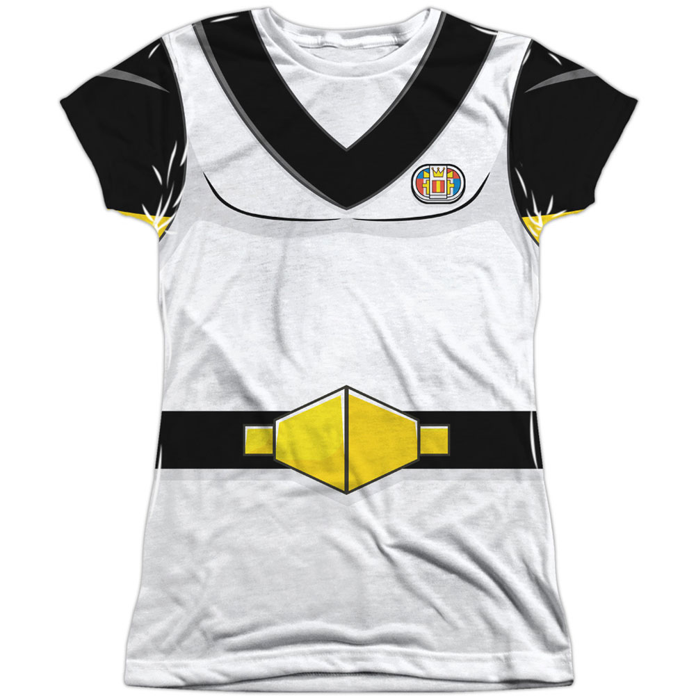 Voltron Sven Costume (Front Back Print) Juniors Sublimation Shirt