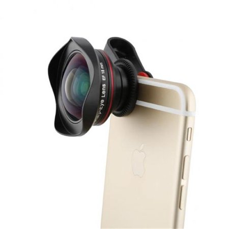 DCkina DCK005185 QuickClip with SharpEye Full Frame Wide Angle Lens ...