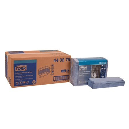 Tork Wiper - Tork 440278 Industrial Paper Wiper, Top-Pak, 4-Ply, 12.8