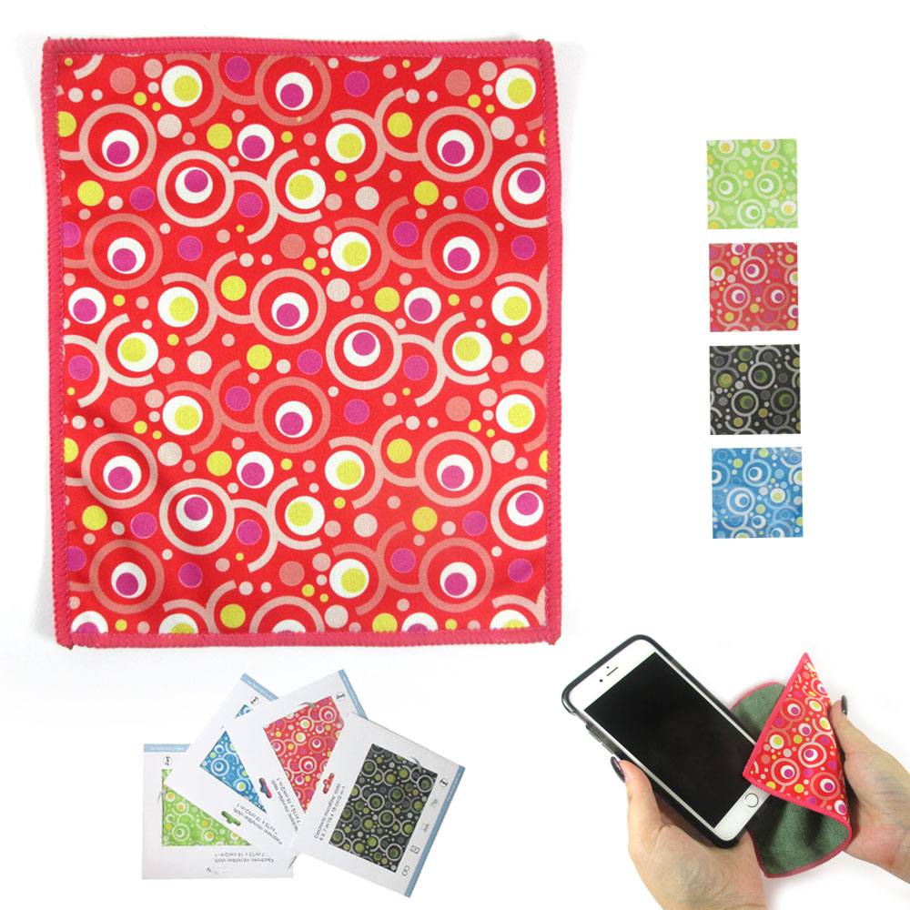 Microfiber Cleaning Cloth Eyeglass Electronic No Scratch Camera Lens  LCD Screen