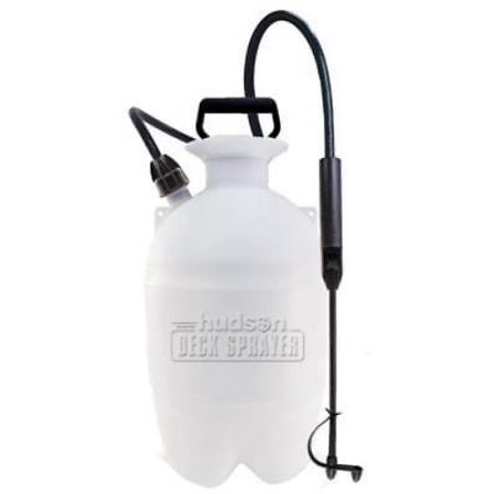 1 Gallon Deck Sprayer Translucent Tank With Funnel Top Locking Lever A Only