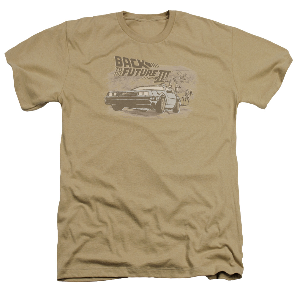Back To The Future Iii Carboys And Indians Mens Heather Shirt