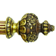 1 3/8 in. Compatible Finial - Constable (Aged White)