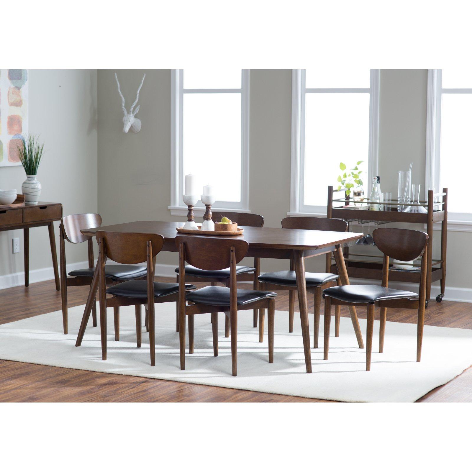 62f0efdd7a Belham Living Carter Mid-Century Modern Dining Table - Walmart.com