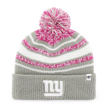 c36e26491 Girls New York Giants NY Youth Beanie Cuff Knit Hat - Walmart.com