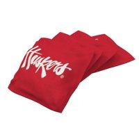 XL Bean Bag 4pk Nebraska Cornhuskers Red